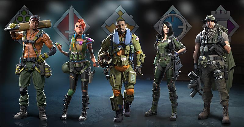 War Planet Online iPad soldados