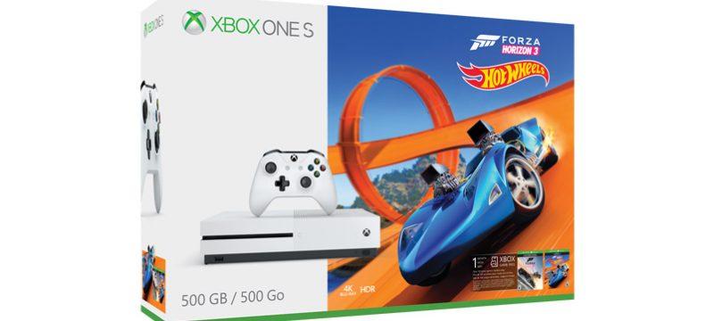 Xbox ONE S Paquete Forza Horizon 3 Hot Wheels