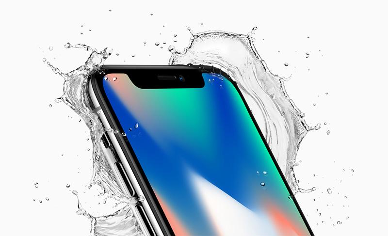 iPhone X agua