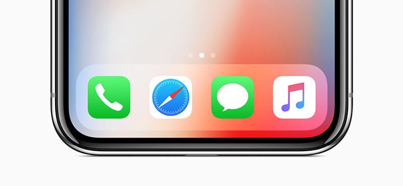 iPhone X sin boton