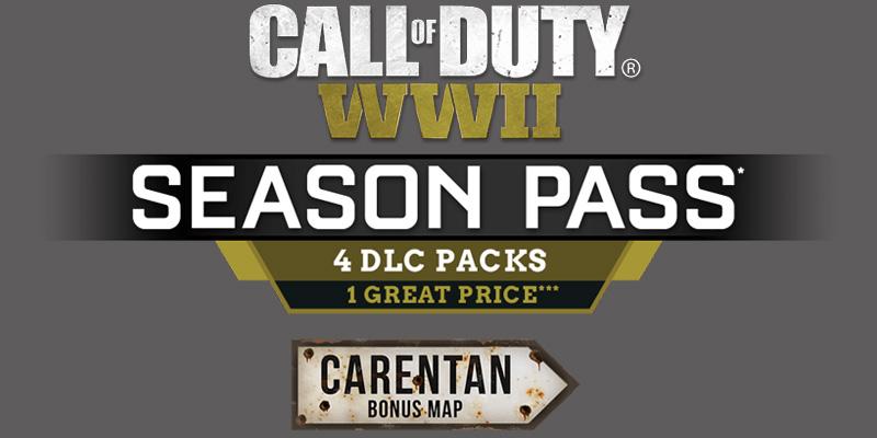 Carentan Call of Duty WWII Mapa