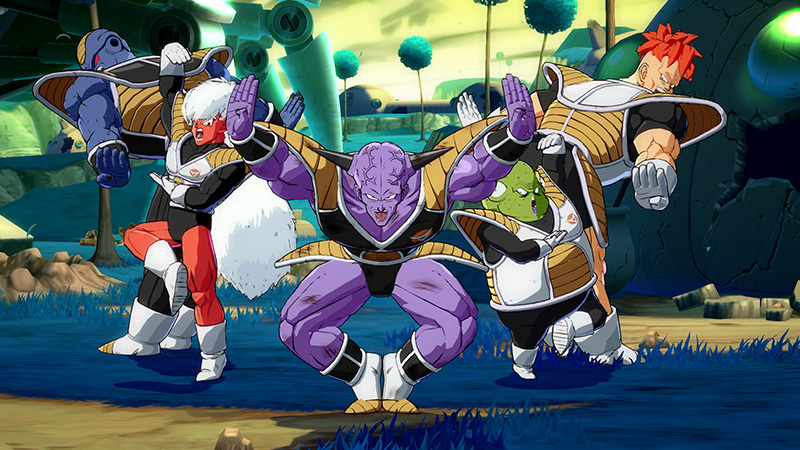 Dragon Ball FighterZ fecha Ginyu Force