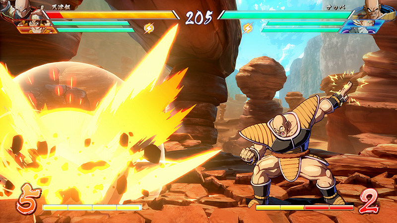 Dragon Ball FighterZ fecha Nappa