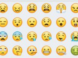 Emojis WhatsApp 2017