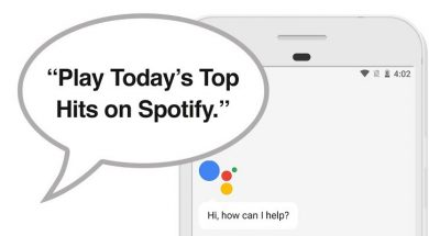 Google Assistant Spotify