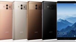 Huawei Mate 10 llega con el avanzado procesador Kirin 970