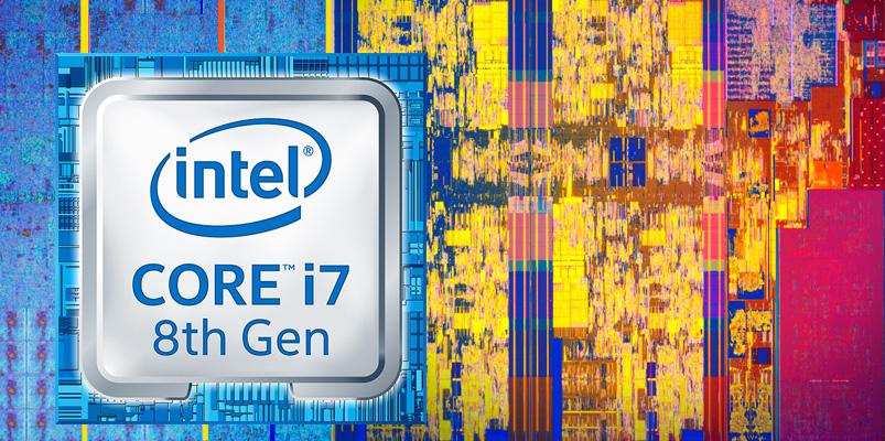 Procesadores Intel Core de 8a generación para videojuegos