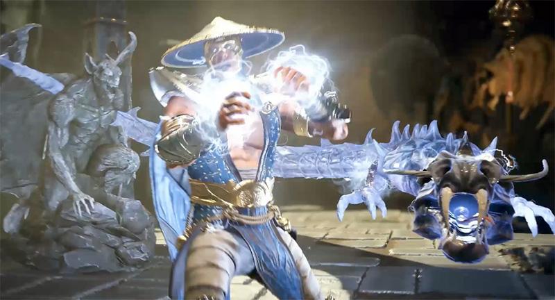 Raiden 25 aniversario Mortal Kombat
