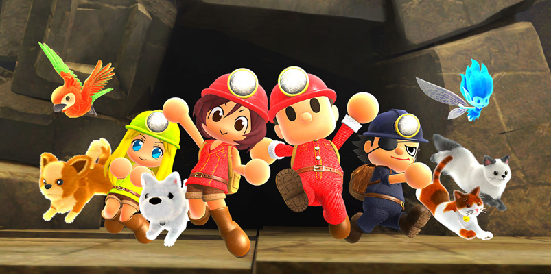 Spelunker Party! ya está disponible para Nintendo Switch