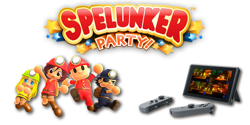 Spelunker Party Switch