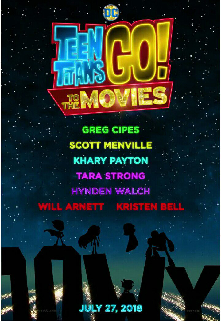 Teen Titans GO to the Movies cartel