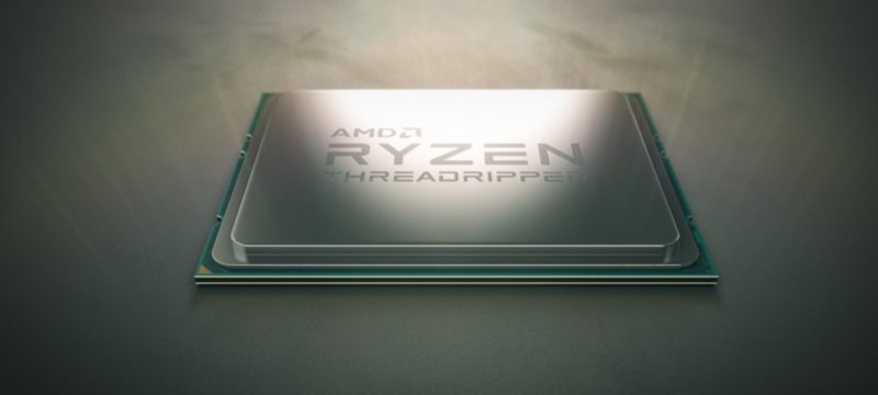 AMD Ryzen Threadripper 1950X CES 2017