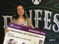 Ariadna Ramirez Just Dance 2017