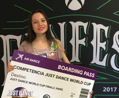 Ariadna Ramirez Just Dance 2017