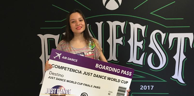 Ariadna Ramírez, la nueva campeona mexicana de Just Dance