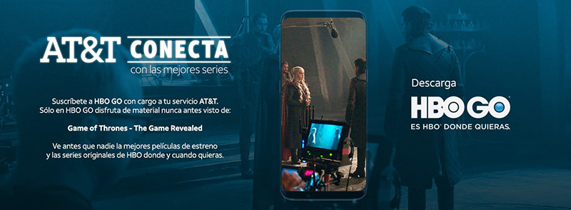 HBO GO AT&T Mexico