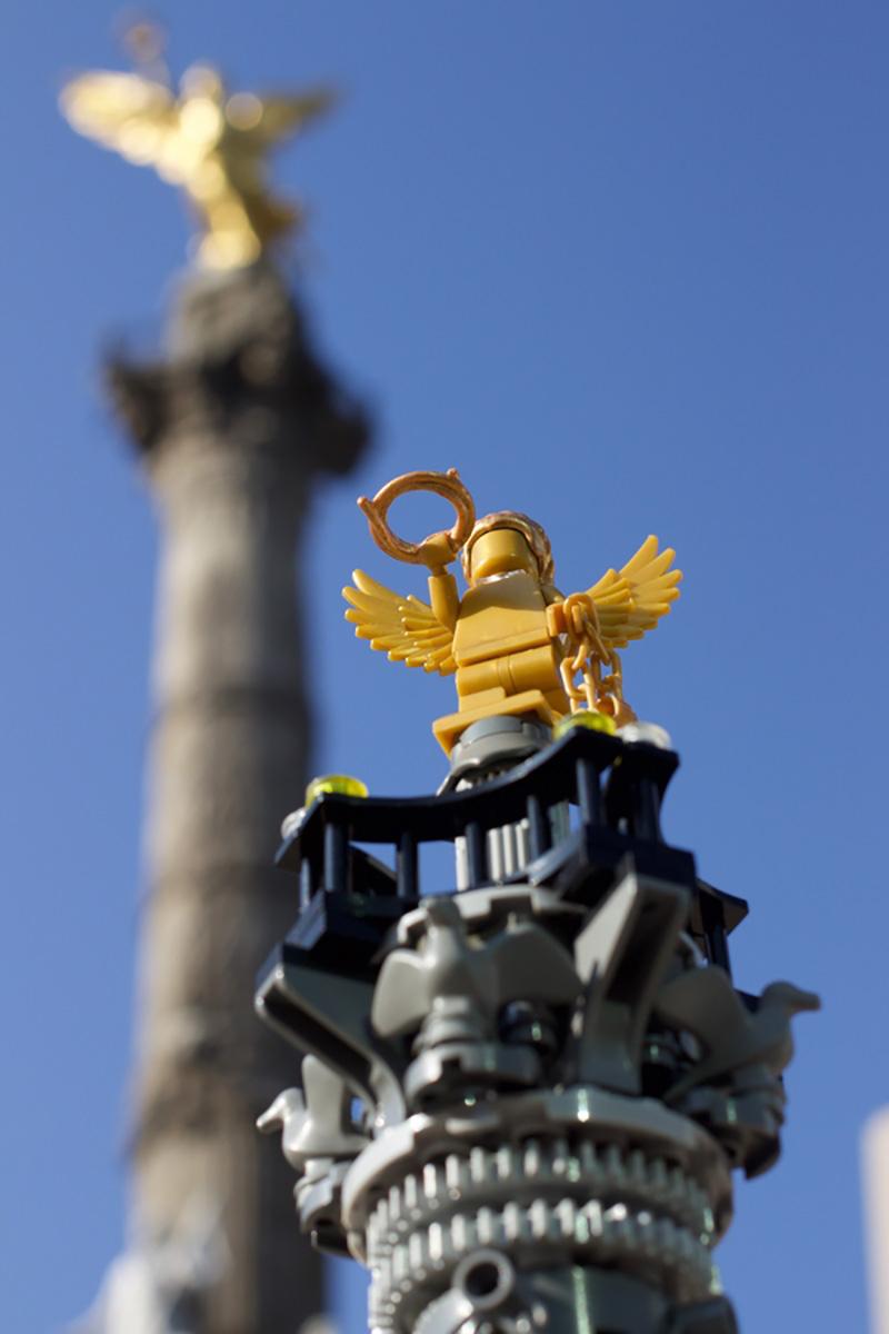LEGO El Angel monumento