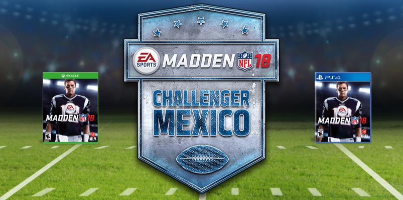 Madden Challenger México busca al mejor gamer del país