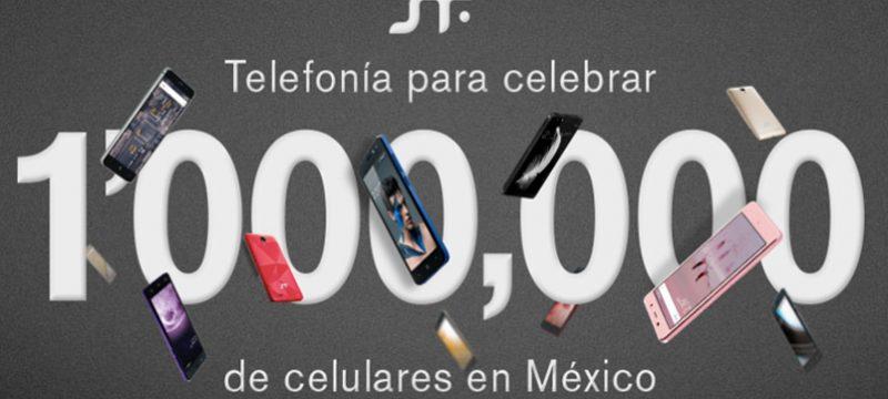 Un millon smartphones SFT mobile