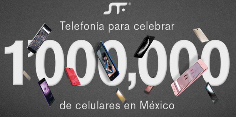 Un millón de smartphones SFT mobile vendidos en México