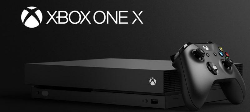 Xbox One X lanzamiento