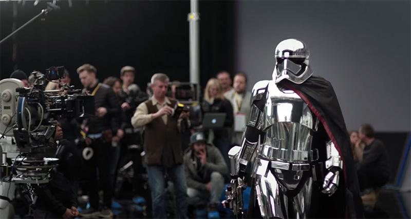 Entrenan Star Wars The Last Jedi 2017