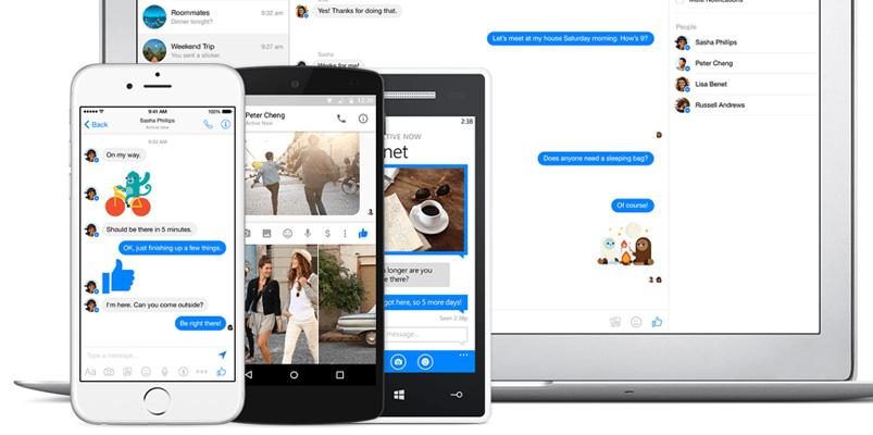 Lo que pasó durante el 2017 en Messenger de Facebook