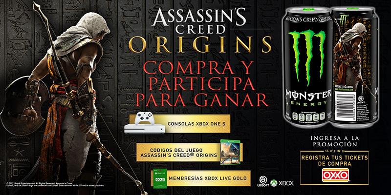 Monster Energy Assassins Creed Origins