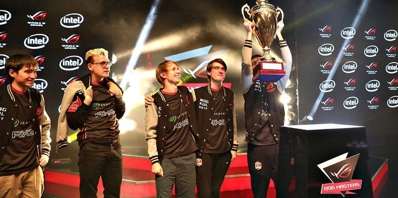 ROG Masters 2017 se consagra como el mejor evento de eSports