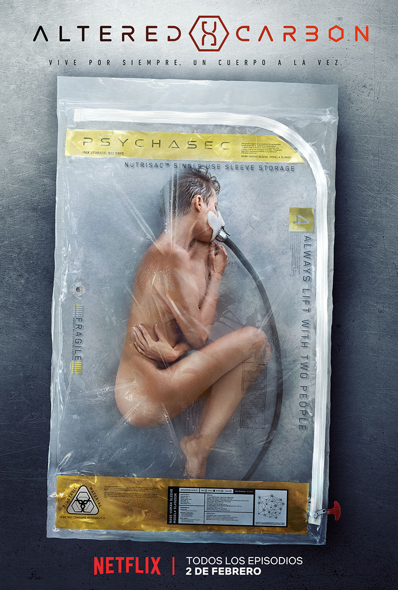 Altered Carbon poster mujer