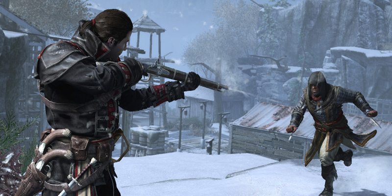 Assassins Creed Rogue Remastered PS4 Pro
