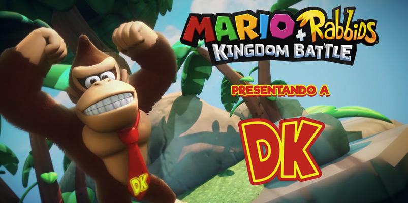 Donkey Kong será nuevo héroe en Mario + Rabbids Kingdom Battle