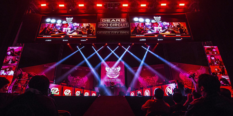 Más de tres mil gamers en Gears Pro Circuit Mexico City Open 2018