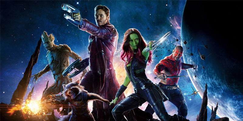 Guardianes de la Galaxia Netflix febrero 2018
