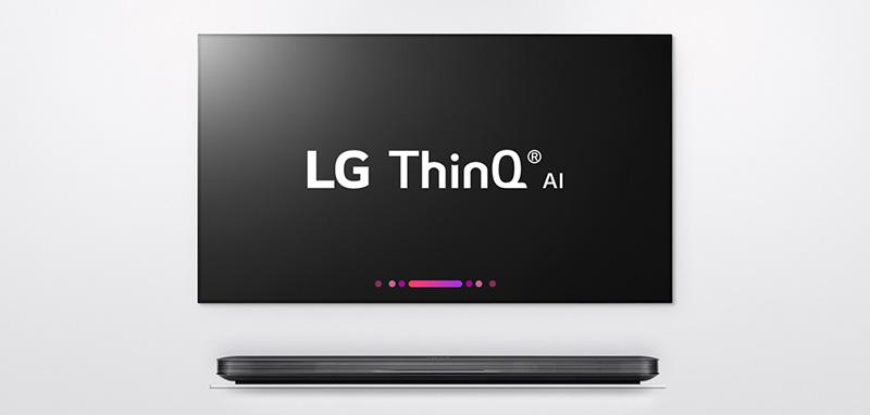 LG DeepThinQ CES 2018 smart tv