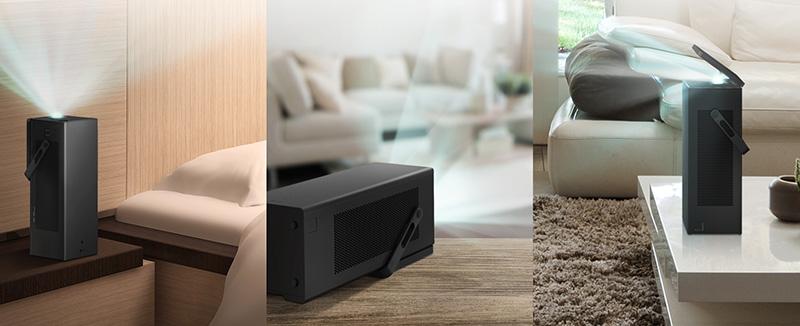 LG HU80K proyector 4K CES 2018