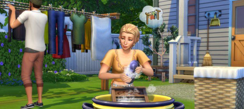 Los Sims 4 Dia de Colada accesorios