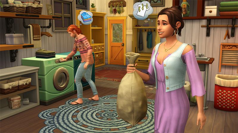 Los Sims 4 Dia de Colada accesorios PC