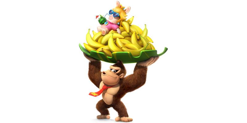 Mario Rabbids Kingdom Battle Donkey Kong