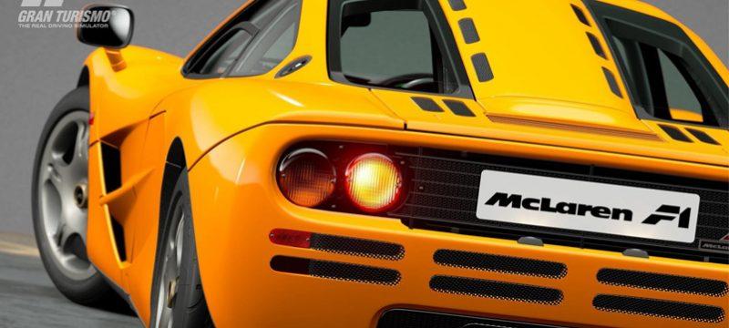 McLaren F1 Gran Turismo Sport