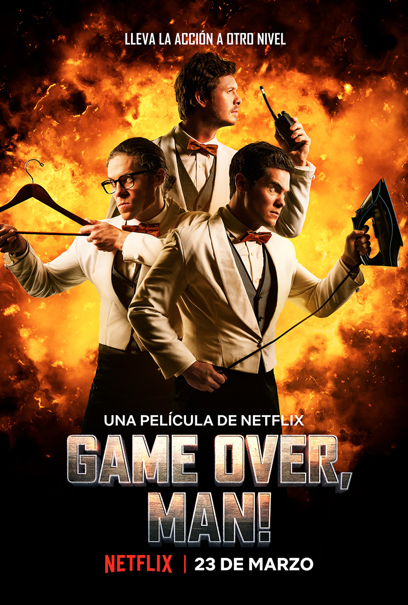 Netflix Game Over Man