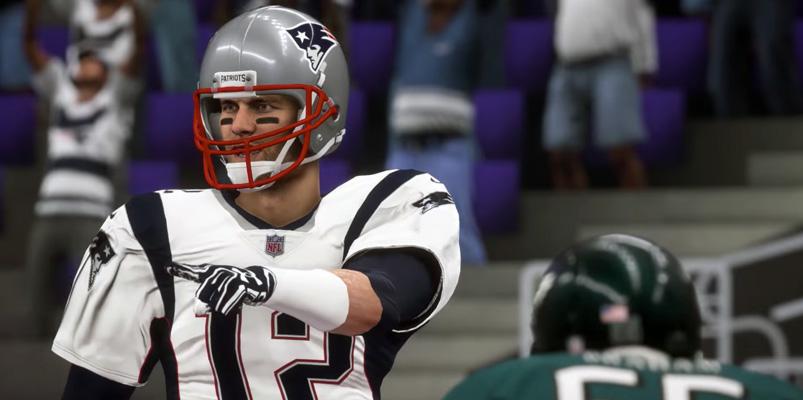 New England Patriots se lleva el Super Bowl, en Madden NFL 18