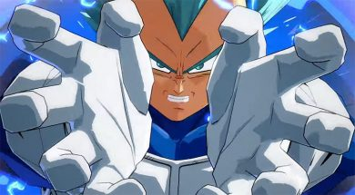 SSGSS Vegeta Dragon Ball Fighterz pelea