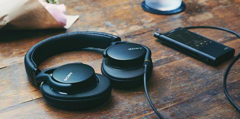 Los audífonos Sony MDR-1AM2 para sonido en alta resolución