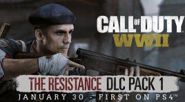 Todo el contenido de The Resistance para Call of Duty: WWII