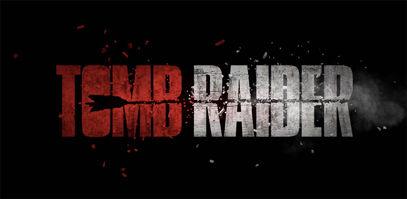 Tomb Raider logo segundo trailer
