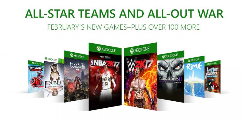 Xbox Game Pass febrero 2018