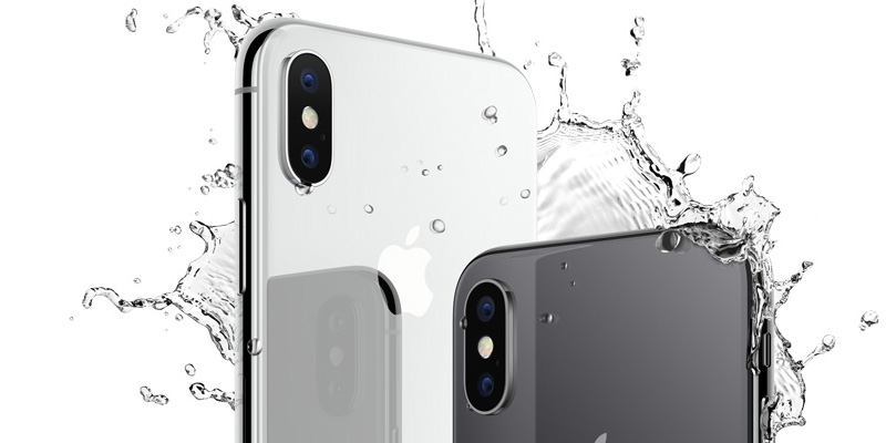 Apple iPhone X agua
