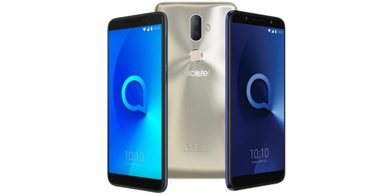 Los nuevos smartphones Alcatel Serie 3 en MWC2018