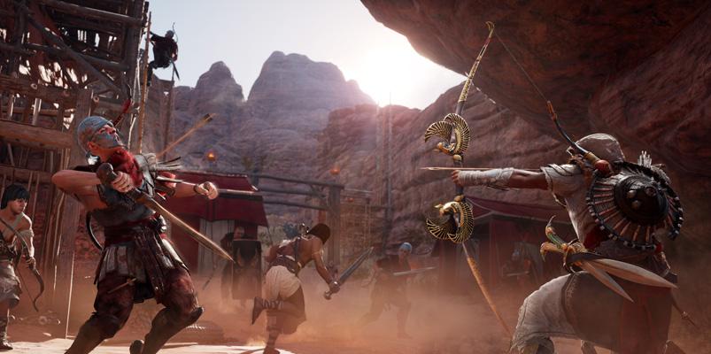 El contenido descargable para Assassin's Creed Origins